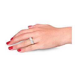 Top sieraad witgouden ring met 54 briljanten