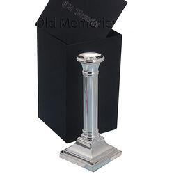 Zilveren kandelaar