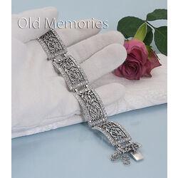 zilveren armband met swarovski van GL