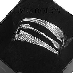 zilveren armband kraanvogel