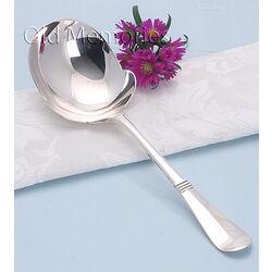 zilveren aardappellepel