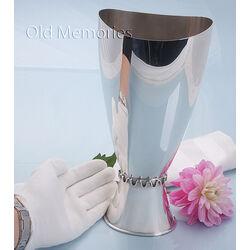 zilveren vaas Gustav Beran