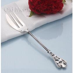 Zilveren gembervork 16 cm