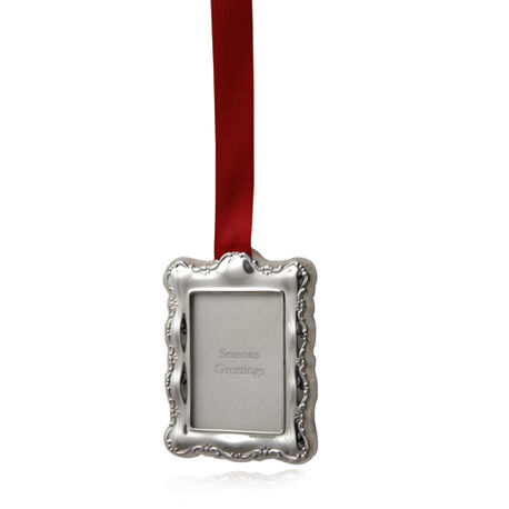 Carrs zilveren fotolijst Kerst rechthoek