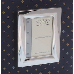 Zilveren fotolijst hangend 9x6 Carrs