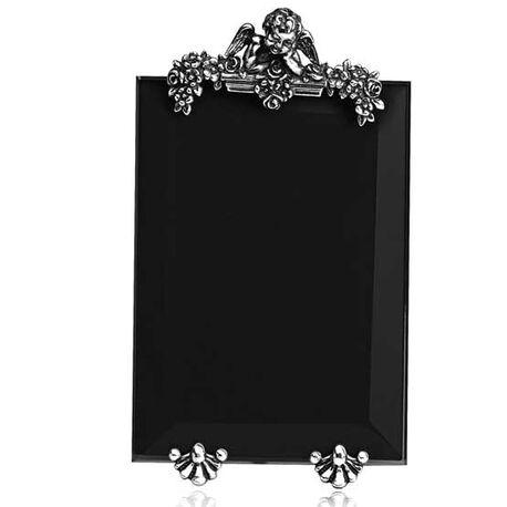 Zilveren fotolijst met engeltje van raspini
