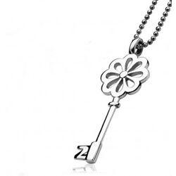 Zilveren hanger sleutel van Zinzi