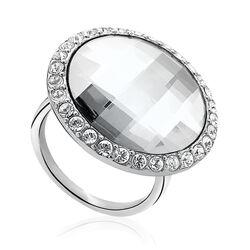Zinzi ring wit swarovski Zir628