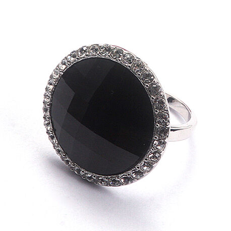 zir628z zinzi ring zwart