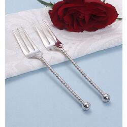 2 Zilveren vorken