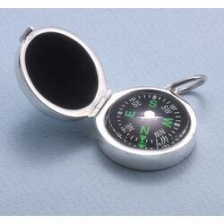 Kompas zilveren houder zilver van Carrs pn106