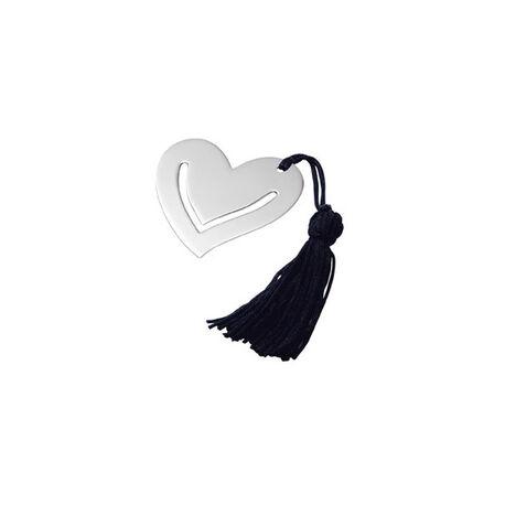 Zilveren hart bladwijzer van Carrs