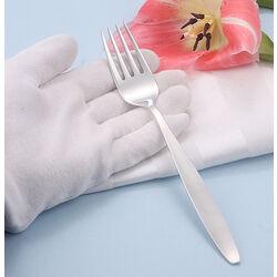 Verzilverde dessertvork model Ingrid van keltum