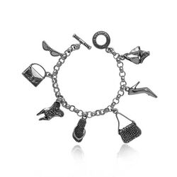 zilveren bedelarmband mode accessoires