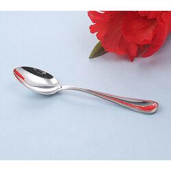 Zilveren theelepel model dubbelfilet van Schiavon