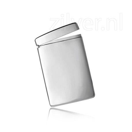 Zilveren visitekaarthouder van Carrs pg006