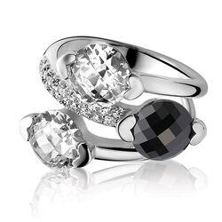Zinzi Zilveren Ring Zirkonia Zir270w