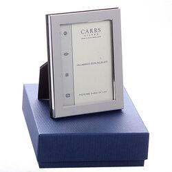 Gladde zilveren fotolijst 9 x 6 cm Carrs Fnpr2