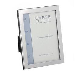Fotolijst zilver montuur glad 13 x 9 cm Carrs FNPR3/w