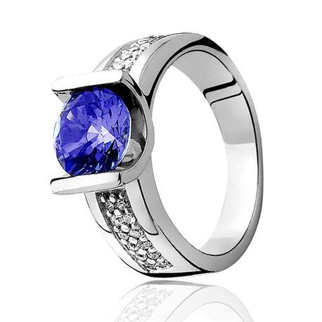Zinzi Zilveren Ring Zir576b
