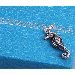 Zilver hanger zeepaardje van Raspini
