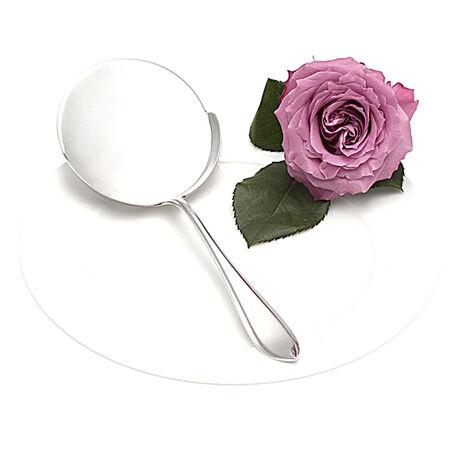 Zilveren spiegeleischep puntfilet