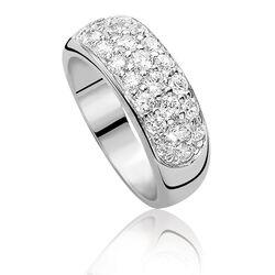 Zinzi Zilveren Ring Zir334