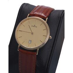 Edox 14 karaats geelgouden horloge