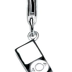 Zilveren bedel iPod Ch188