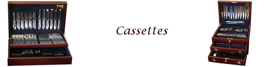 Zilveren cassettes