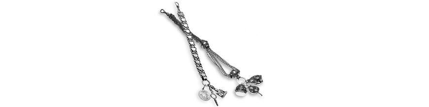 Zilveren chatelaines