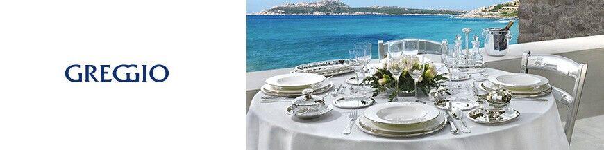 Greggio zilver op tafel
