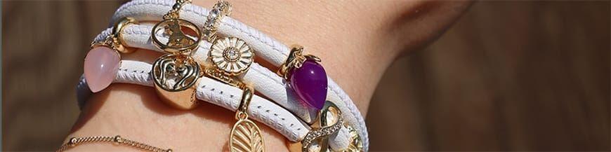 Armbanden leer Christina