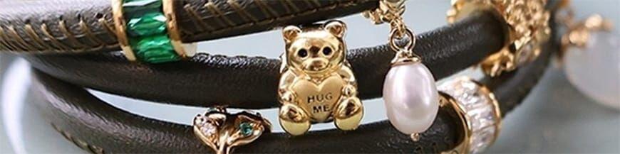Christina Charms voor leren armbanden