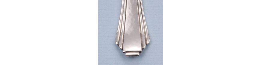 Tafelzilver Art Deco palmet