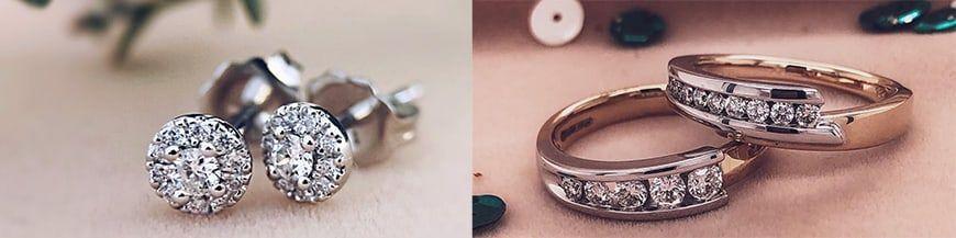 Antieke diamanten sieraden