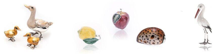 Zilveren miniaturen