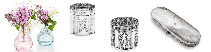 Zilveren doosjes antiek