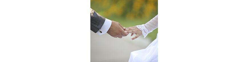 Voor het bruidspersoneel