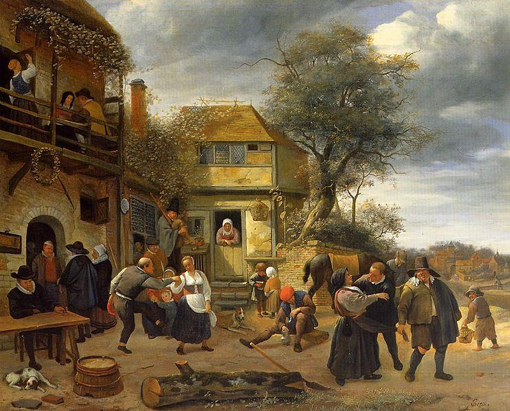 Schilderij van Jan Steen