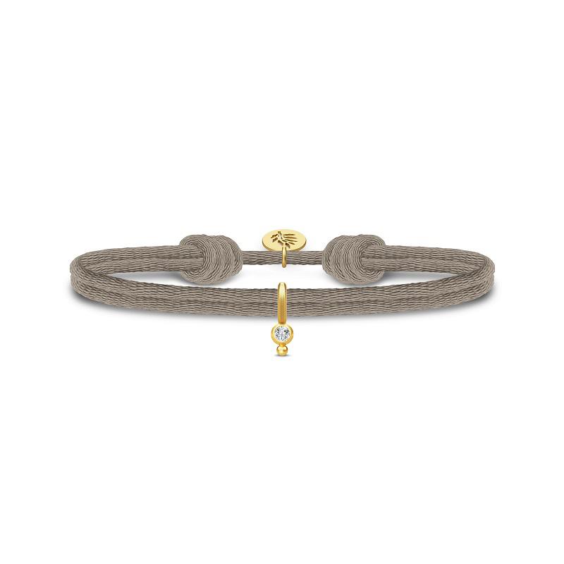 Julie Sandlau Charity armband licht bruin