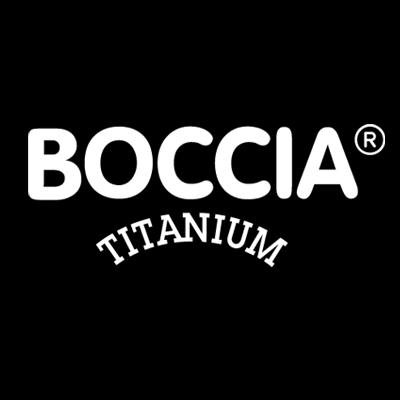 Boccia ketting met schakels van titanium