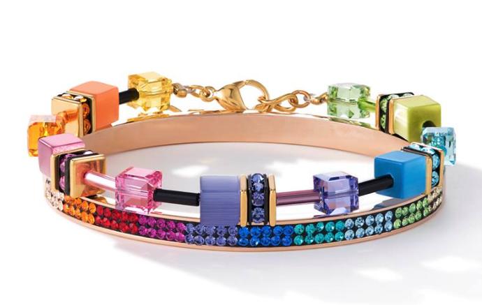 Geocube armband multicolor Motion 2