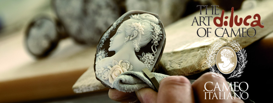 verguld zilveren oorbellen camee vlinder