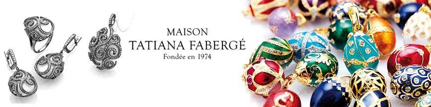 Maison Tatiana Fabergé Tsars collection oorbellen en hangers Kennisbank Zilver.nl