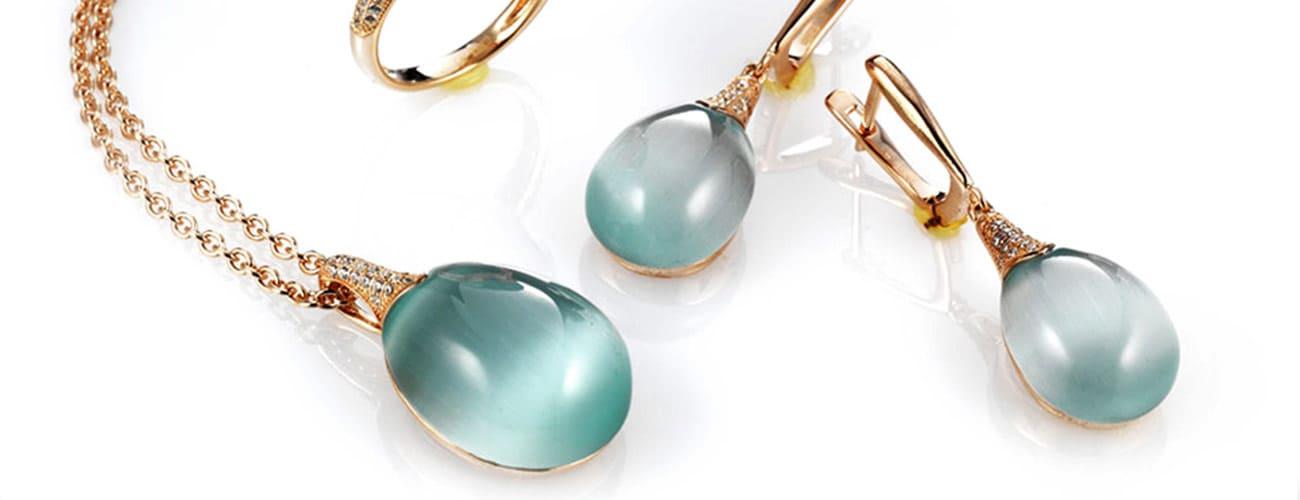 Maison Tatiana Fabergé oorbellen en hangers Kennisbank Zilver.nl