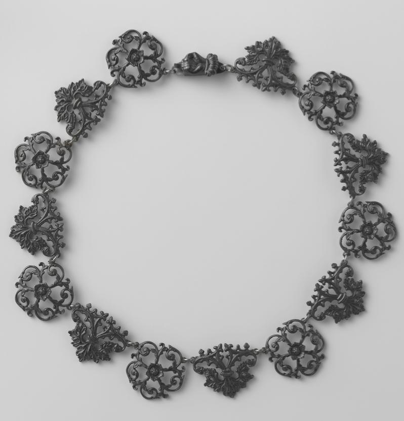 Fer de Berlin collier collectie Rijksmuseum bij kennisbank Zilver.nl