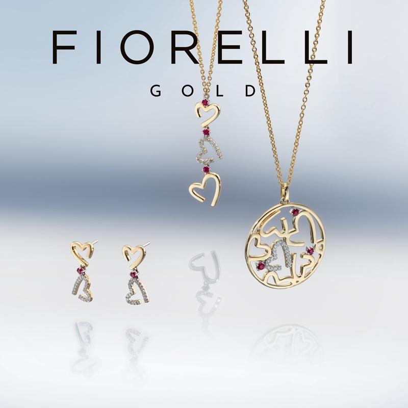 Oorbellen roségoud Fiorelli