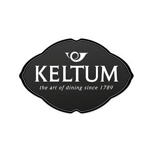 Keltum logo voor hoogwaardig verzilverd bestek bij Zilver.nl