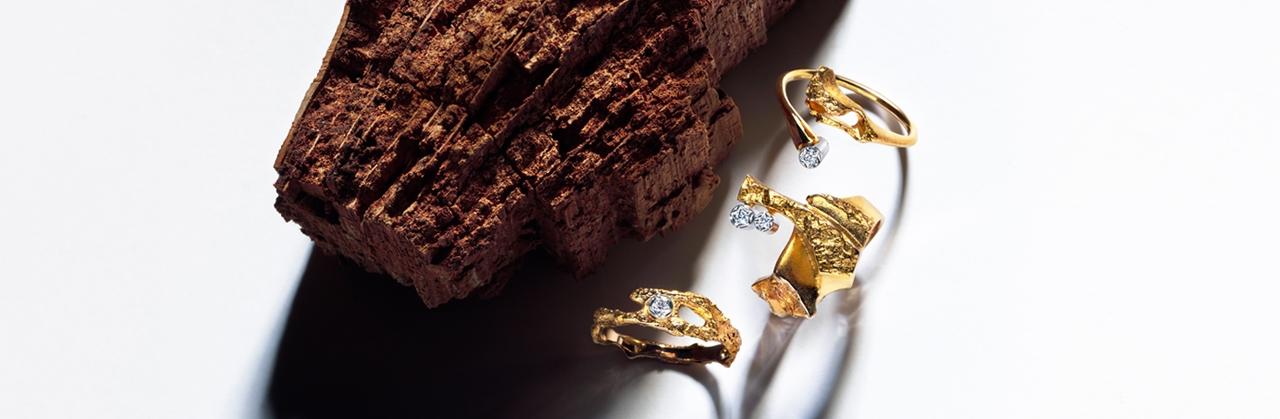 Gouden Lapponia ring pond bij Zilver.nl